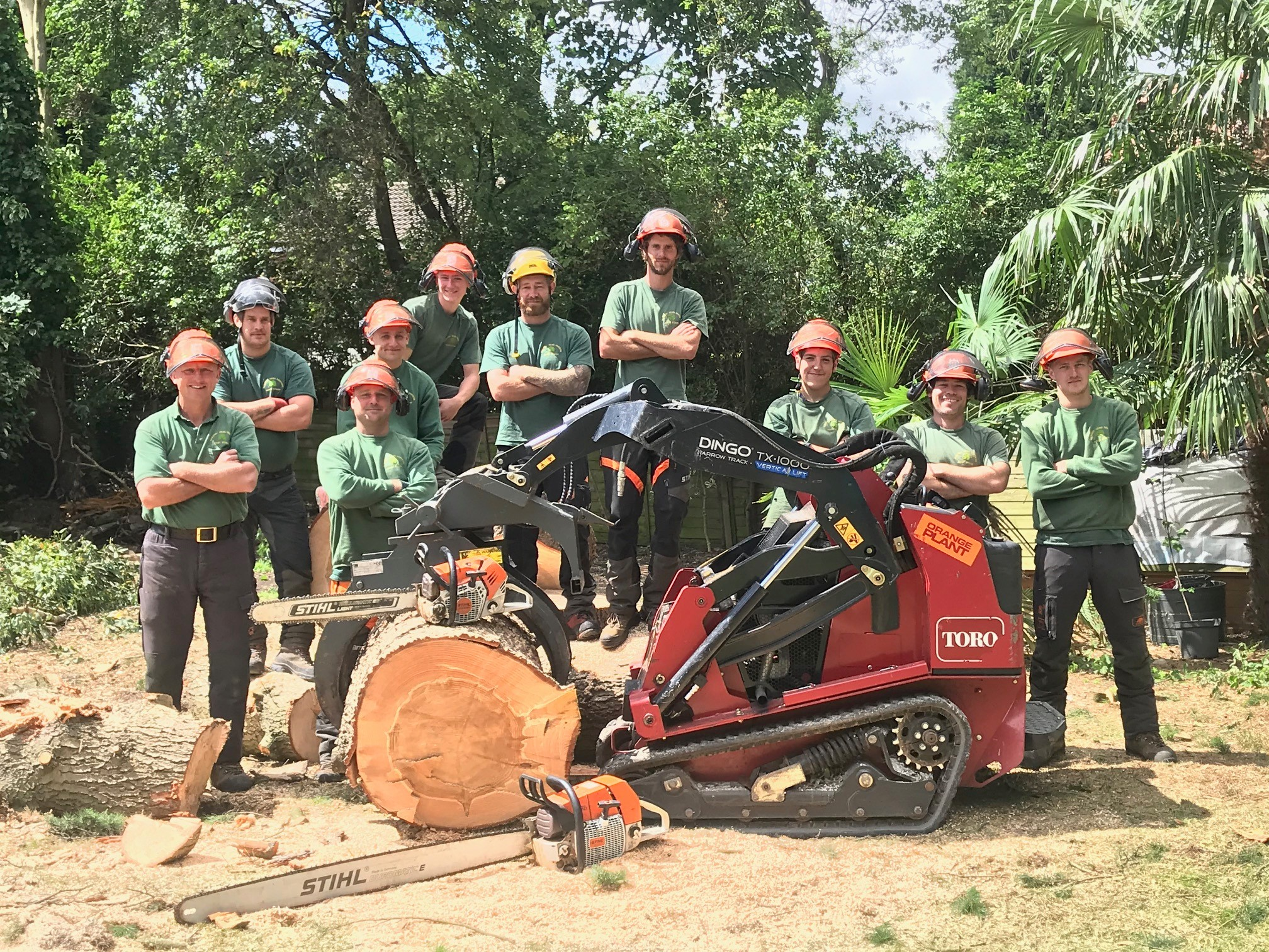 Photo of our Professional Tree Surgeons in Leeds